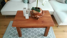 Chunky Solid Pine Coffee Table. Part renovated. *Can deliver locally*