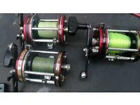 3x ABU 7000s multiplier fishing reels £50 EACH