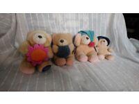 4 Forever Friends Bears. Job lot £6