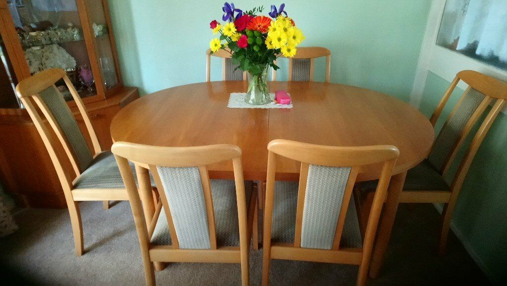 Dining Room Table 6 Chairs Thornbury