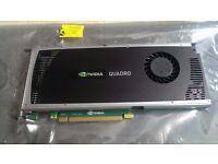 Nvidia Quadro 4000 2GB PCI-E Graphics Card for CAD work, 3DS MAX etc.