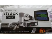 Focusrite iTrack Studio Audio Interface Package Boxed New Sealed