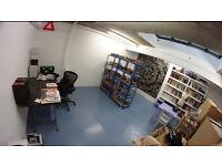 Artist / Designer Beautiful Studio Share in Hackney Wick