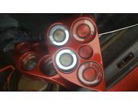 Morette Tail Lights for Subaru