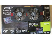 Asus Geforce GTX 750ti 2GB