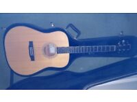 Larrivee D-03 Mahogany/Spruce acoustic with pickup and hardcase. MINT!