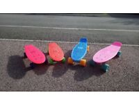 Pennyboards for sale - choice of colours.