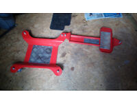 Motorcycle Dolly Mover ConStands M2 red