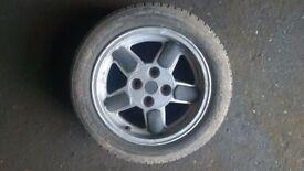 Compomotive Trackstar 4x108 alloy wheel Ford Escort Focus Fiesta Citroen Peugeot NO RONAL TURBO OZ