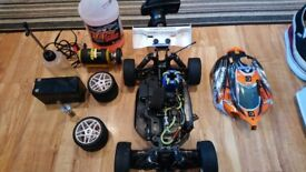 HPI Pulse 4.6 RC Off Road Buggy with extras ** NOW PRICE REDUCED **.