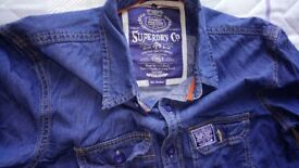 Long shirt Super dry Size m 9£ for one