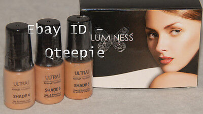 Luminess Air - Airbrush Makeup - 3 Pc Fair Shades 4 5 6 F...