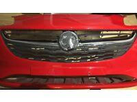 2016 Vauxhall Corsa E front bumper
