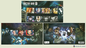 2013 Doctor Who inc. M/S GB Presentation Pack No. 482 (Royal Mail Stamps)