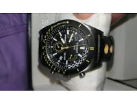 mens TISSOT chronograph watch boxed stunning watch in super condition