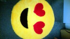 Emoji bedroom rug