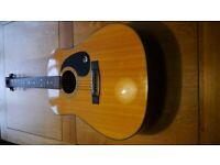 1980's Epiphone PR300 Acoustic Guitar by Gibson