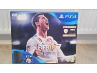 Brand new PS4 500GB with Fifa 18