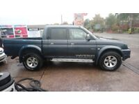 L200 warrior 92,000miles new tyre's front brakes, cambelt