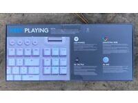 Logitech G915 TKL White - Boxed - UK Layout - Wireless Keyboard. Tactile Switches