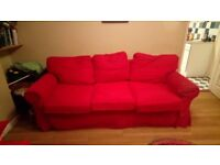 Three seater sofa bed free for collection