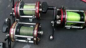 3 ABU 7000 multiplier fishing reels £50 EACH