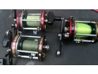 3 ABU 7000 multiplier fishing reels £50 EACH