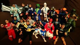 Complete set Action Man Toys