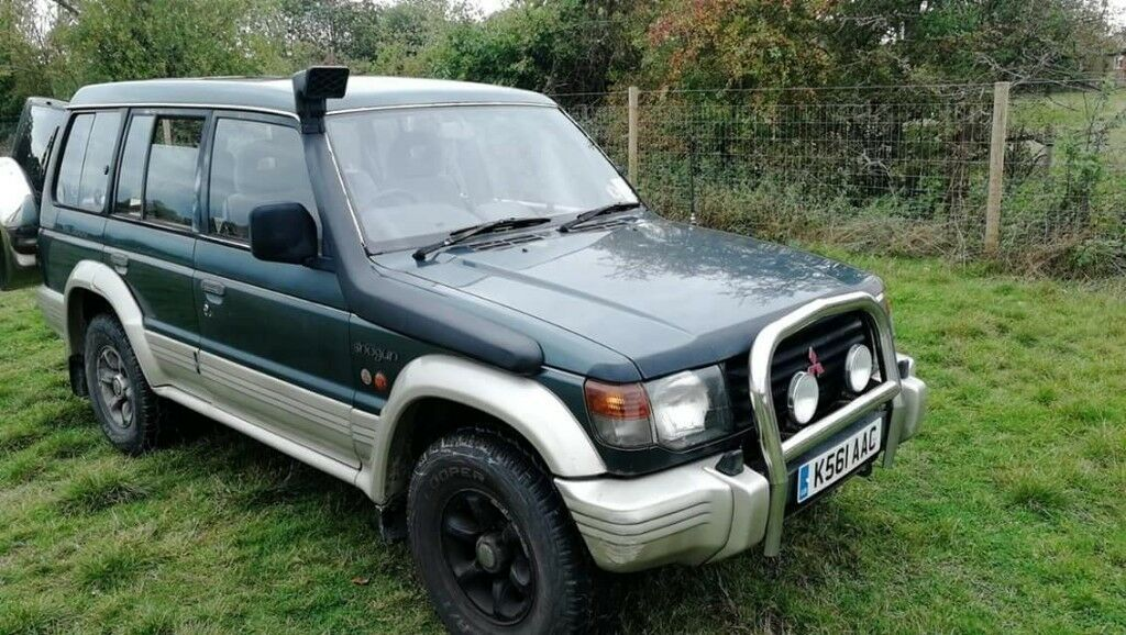 Spares Or Repairs  1993 Mitsubishi Shogun Lwb