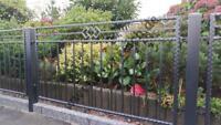 #14: schmiedeeiserner Zaun Gartenzaun Schmuckzaun Dekormatte Niedersachsen - Barnstorf Vorschau
