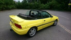 Ford escort convertible full mot