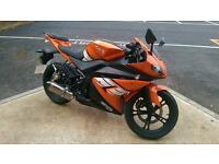 Genata XRZ 125cc 66 Plate Motorbike