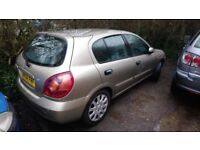 Nissan Almera braking for parts