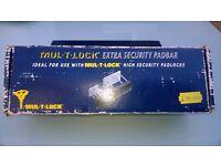 MUL-T-LOCK . EXTRA SECURITY PADBAR