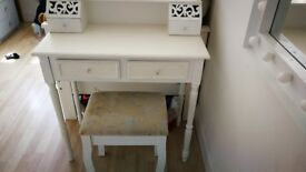 Child's dressing table and stool SOLD SOLD SOLD