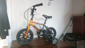 Kids bike (with stabilisers) - Sunbeam mx12
