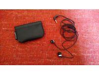 Sennheiser in-ear headphones + free speakers
