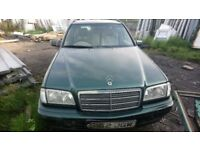 MERCEDES C200 estate automatic 2000cc petrol