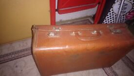 Small sized vintage suitcase