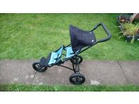 Nice clean mamas and papas dolls double pushchair