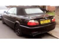 BMW 330CI MANUAL 2003 CONVERTIBLE