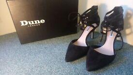 SIZE 4, DUNE CHRISTINA STILETTO high heels.* just HEELED*. STILLETTOS PERFECT