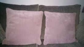 Great condition! 4 mauve cushions from Next