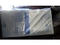 Brand new cot mattress still in packaging
