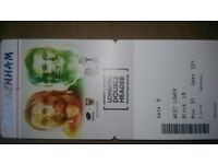 4 amazing rugby tickets to the london double header at twickenham today