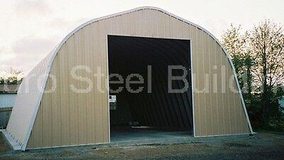 Durospan Steel A30x44x16 Metal Barn Workshop Storage Building Kit Factory Direct