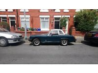 MG Midget 1500. Mint condition, 1978 British Classic