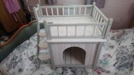 Small dog or puppy or cat house.never used