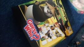 Kung fu panda 3 guess who toy board game