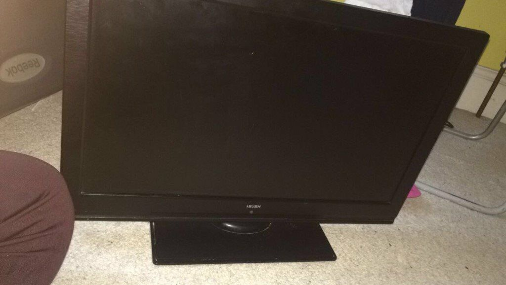 """24"""" nINCH BUSH TV TELEVISION CHEAP DISCOUNT DEAL MUST GO FULLY WORKING MINT"""